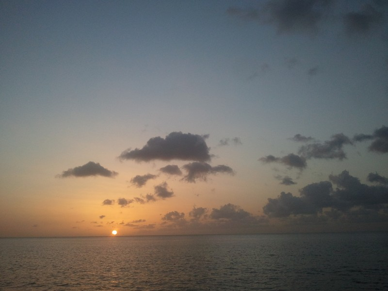 Dominica-sunset